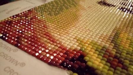 Как покрывать лаком алмазную вышивку 3