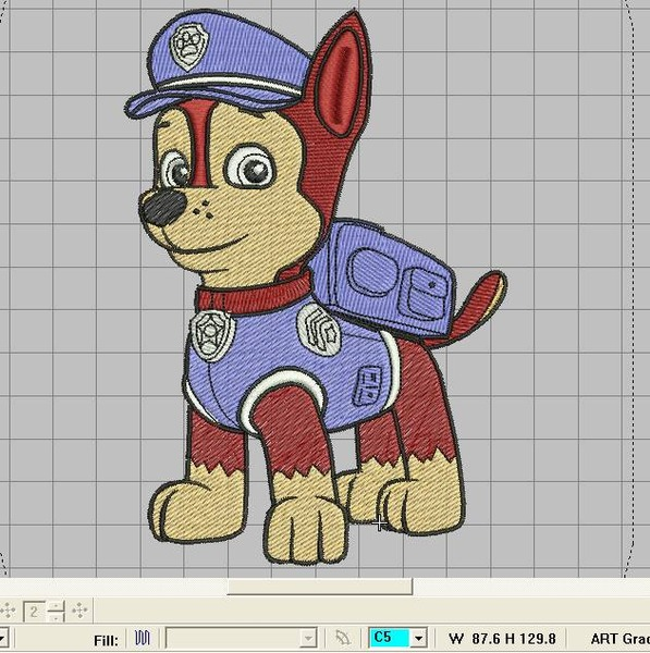 Вышивка крестом схемы щенячий патруль 7