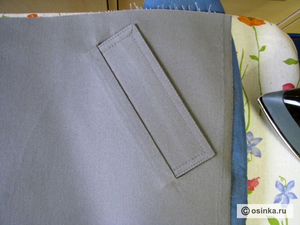 Как правильно сшить прорезные карманы с листочками 66