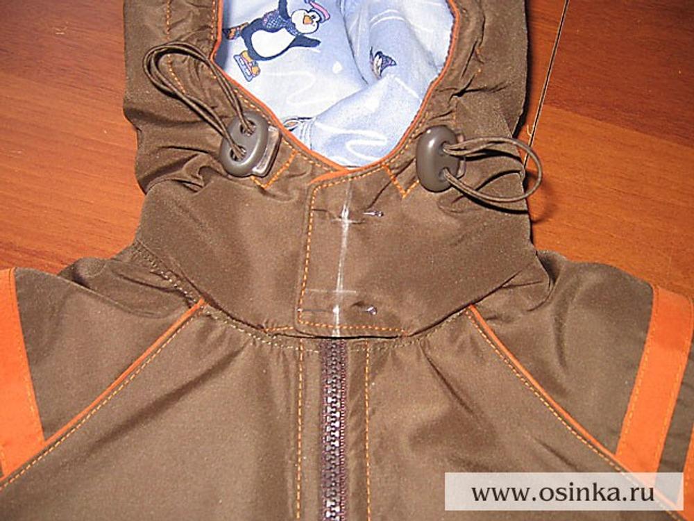 Как сшить куртку с подкладкой 54
