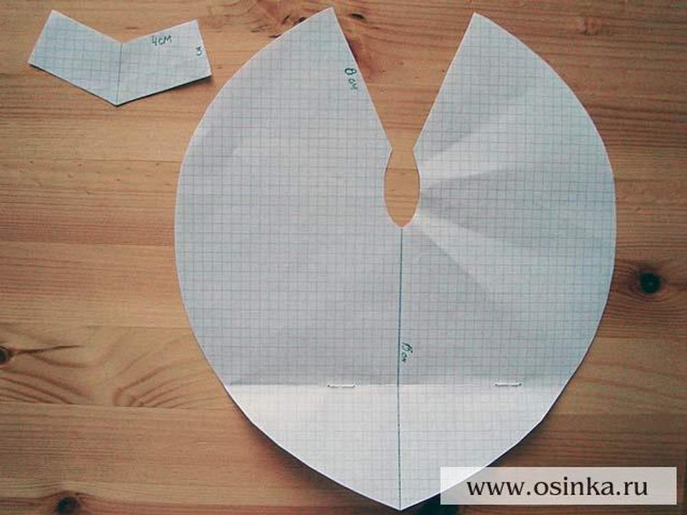 Как сделать круглое жабо - Ubolussur.ru