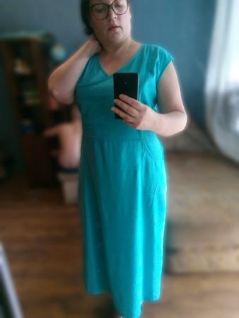 Фото. Льняное платье. Автор работы - Иренна