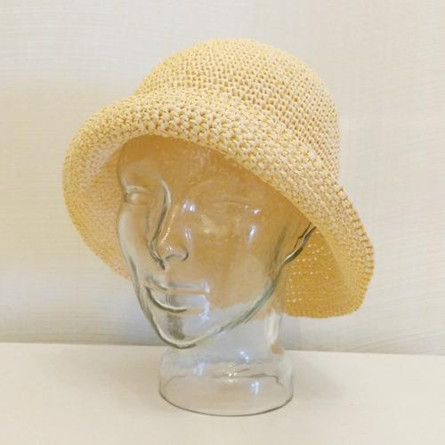 Фото. Шляпа из рафии.   Автор работы - berlinka