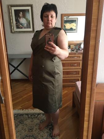 Фото. Платье-тренч.  Автор работы - vulfonson