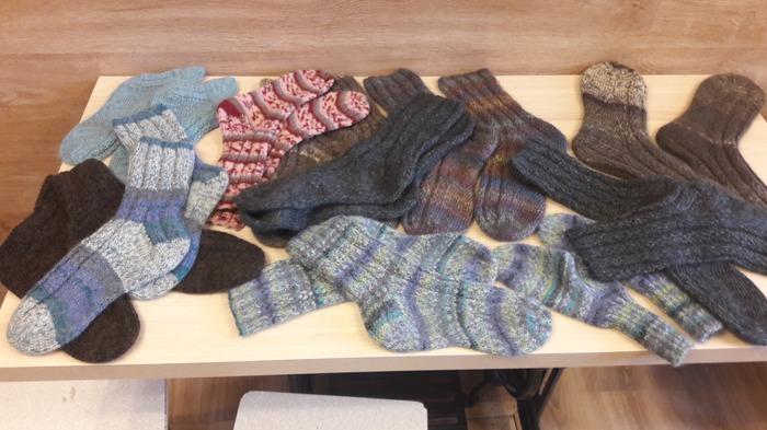 Фото. 10 пар носков.  Автор работы - htgrf1