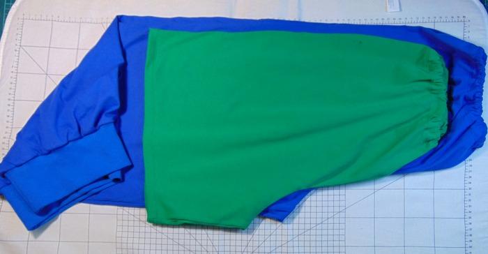 Фото. Домашние штаны.  Автор работы - Апраксия