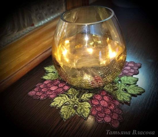 Фото. Кружевная салфеточка под лампаду.  Автор работы - Anfia
