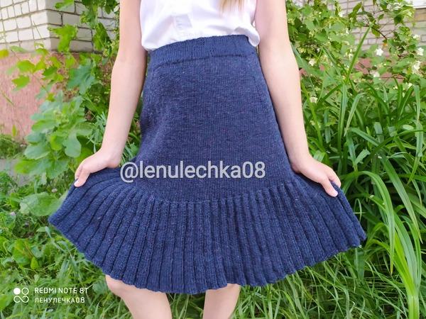 Фото. Школьная юбка.  Автор работы - lenulechka08