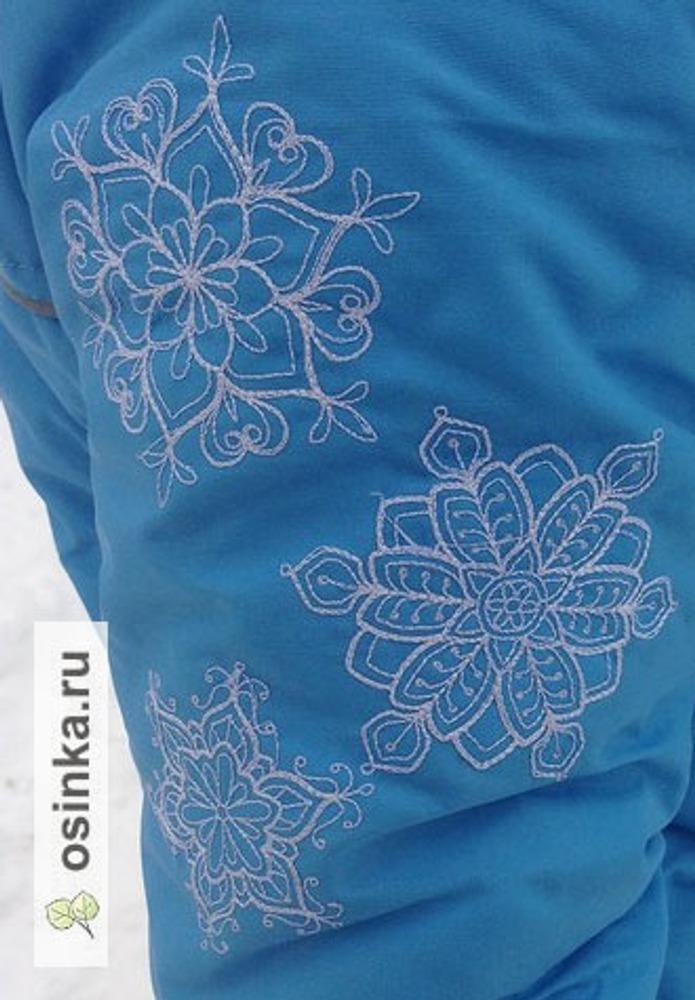 Фото. Машинная вышивка преобразила совершено обычные курточки! Автор работы - AnnaLila
