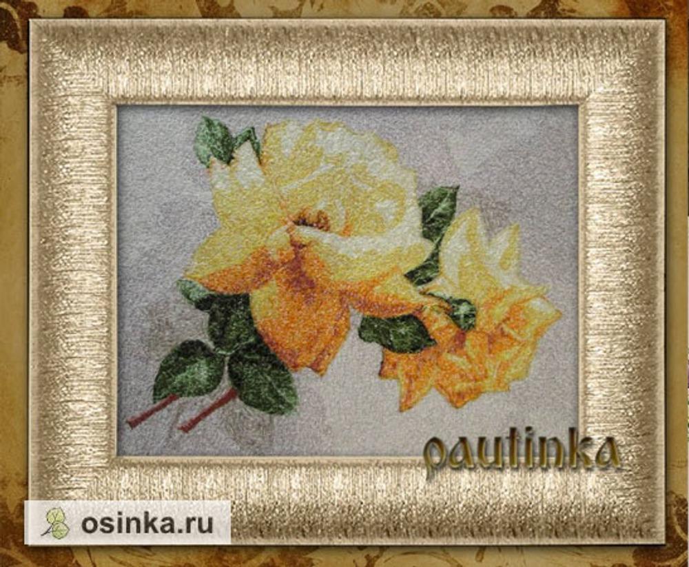 Фото. Желтые розы в технике сфумато. Автор работы - pautinka1