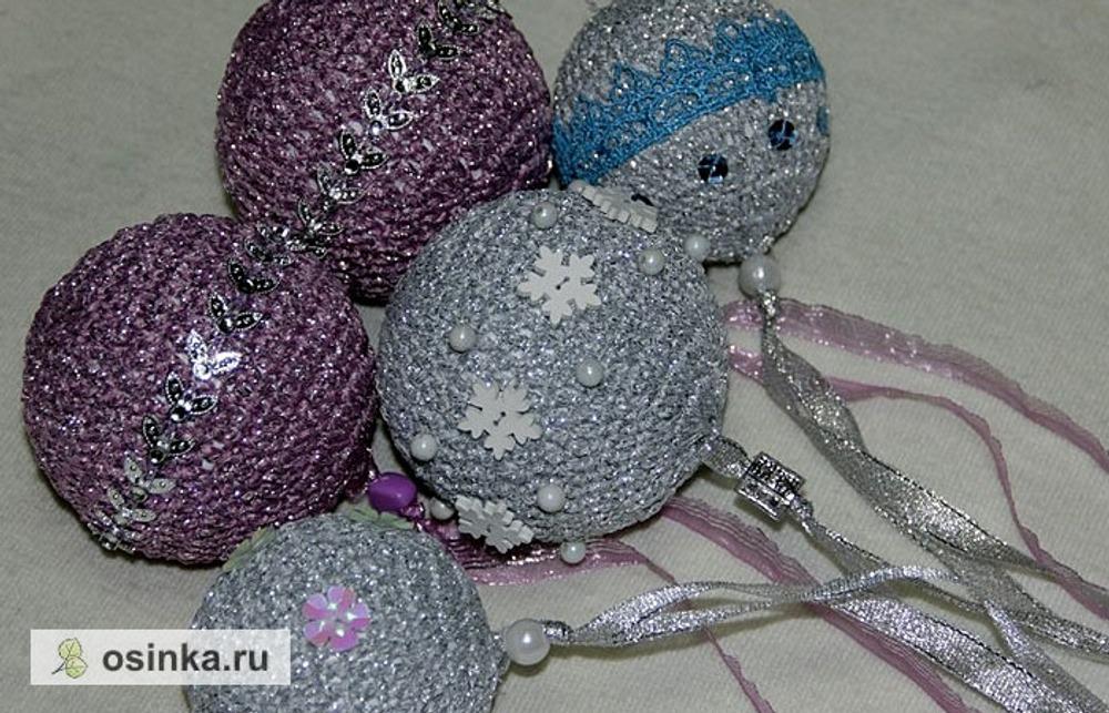Фото. Немного вязаных шариков. Автор работы - Red Oks