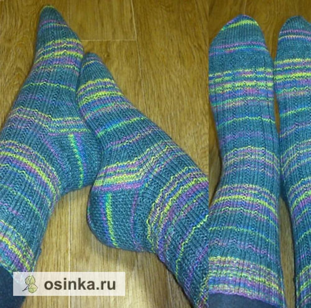 Фото. И немного носочков!  Автор работы - акуна матата