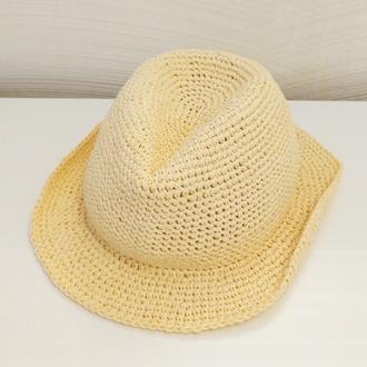 Фото. Долго искала в интернете шляпу для мальчиков и нашла эту. Шляпа Трилби.