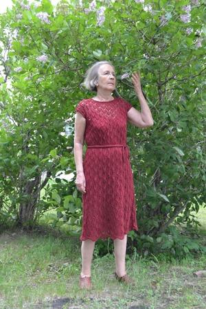Фото. Платье МАРСАЛА.  Автор работы - tnn1952