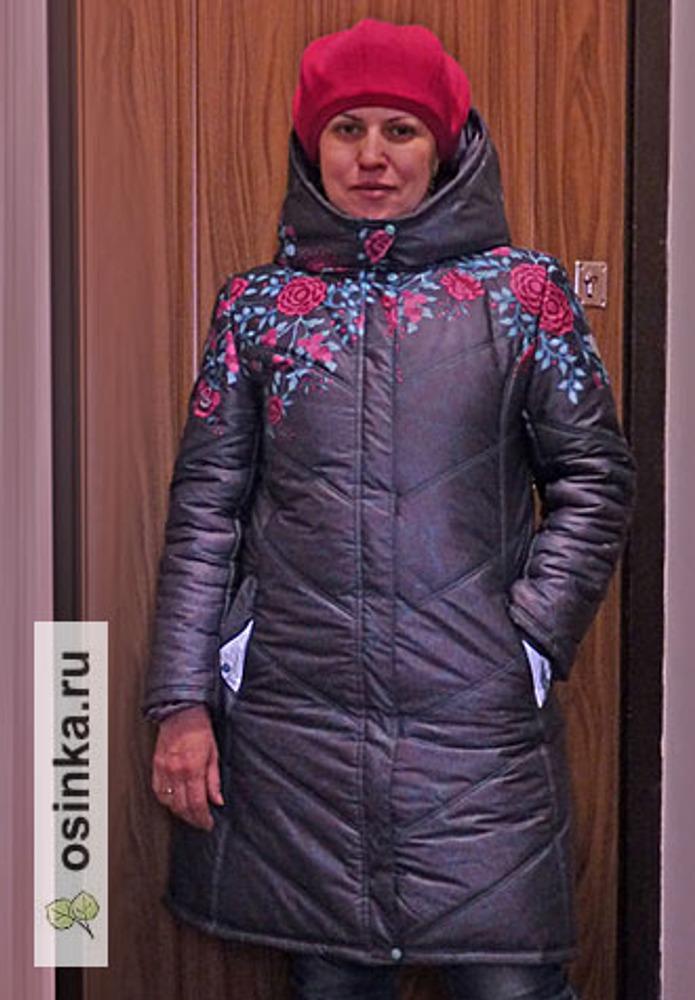 Фото. Еще один отчет с совместника. Курточка для себя-любимой. Автор работы - zhannik4