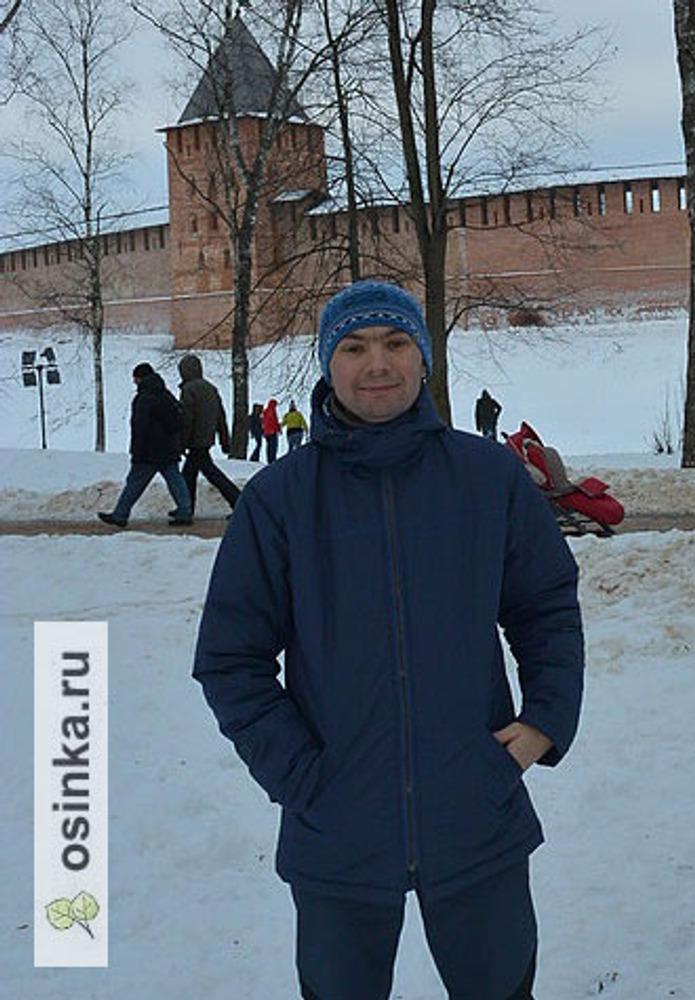 Фото. .. и для мужа. Проверку холодом прошли успешно! Автор работы - oaverewkina