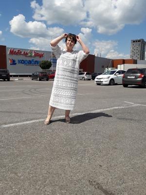 Фото. Вязаное платье.  Автор работы - Nikita 13