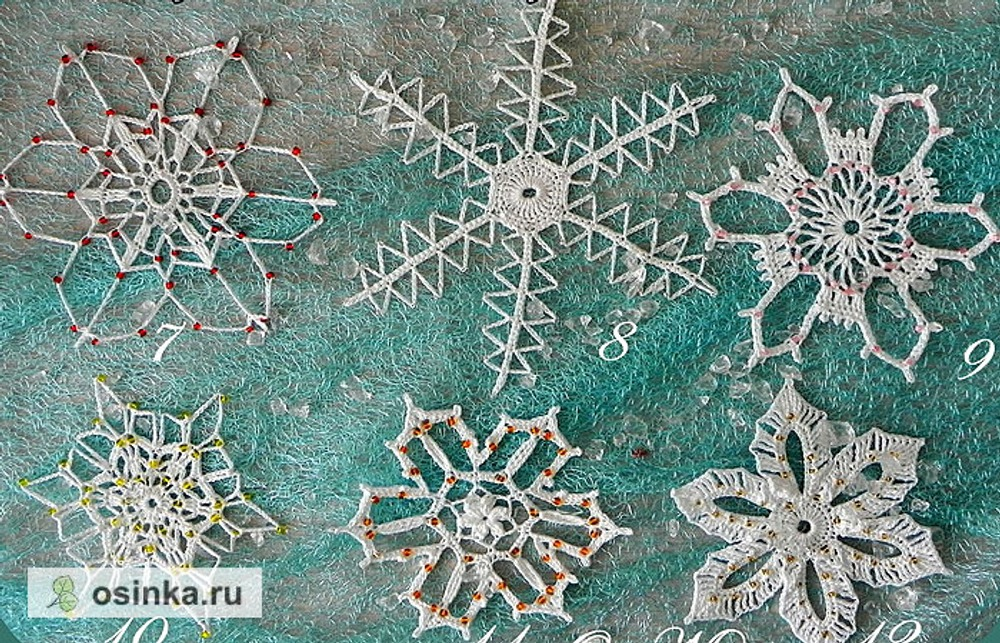 Фото. Новая порция снежинок! Автор работы - Olga_Mt