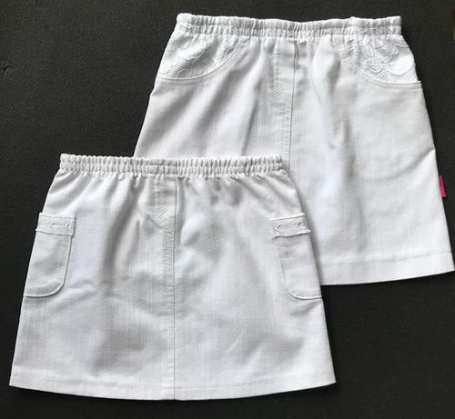 Фото. 2 юбочки из одной пары взрослых летних джинс.   Автор работы - Медведь