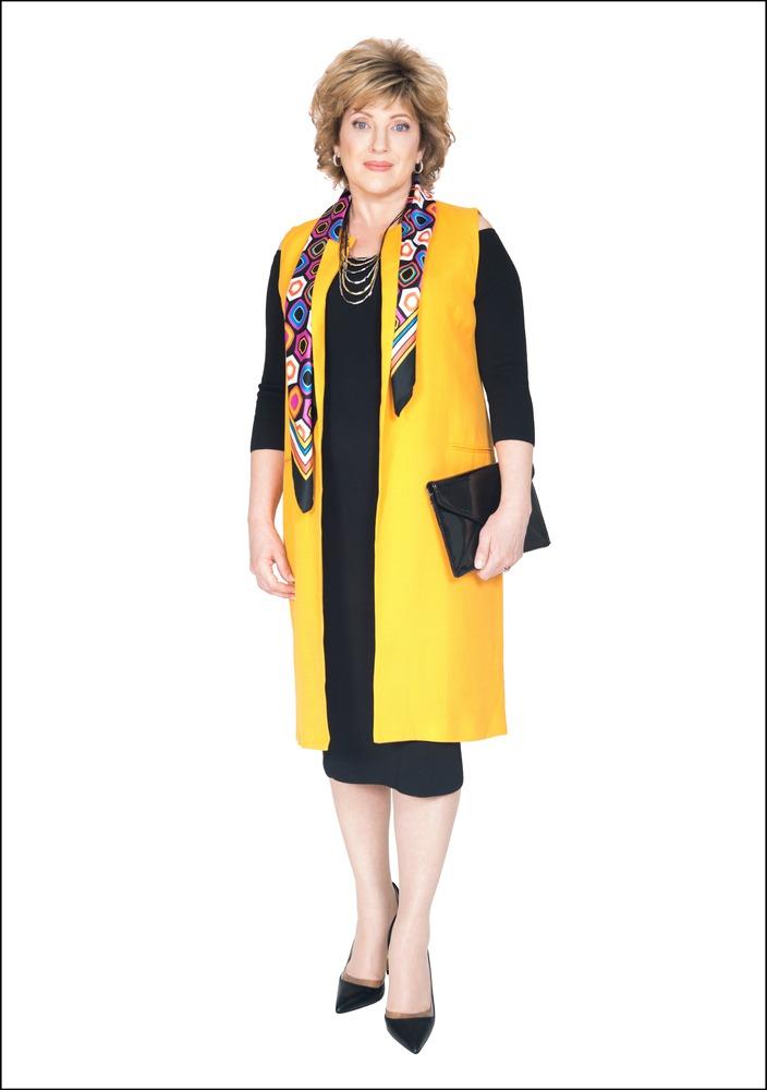 Комплект №3 . Платье, жилет и туфли – Zara
