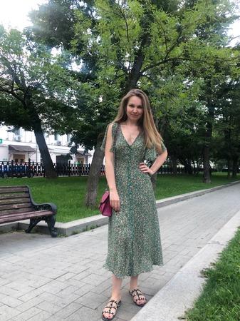 Фото. Летнее платье. Автор работы - V_Olga