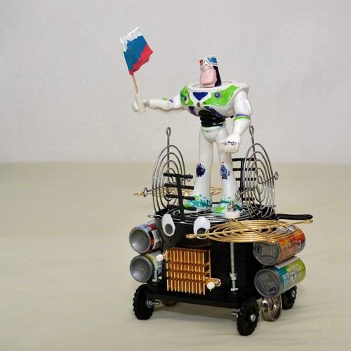 """Фото. Невязание. День космонавтики! Специально для тематической выставке - """"Спасибо, Юра, космос наш!""""  в детском саду."""