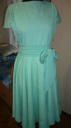 Фото. Выпускное платье. Автор работы - Слобожанка