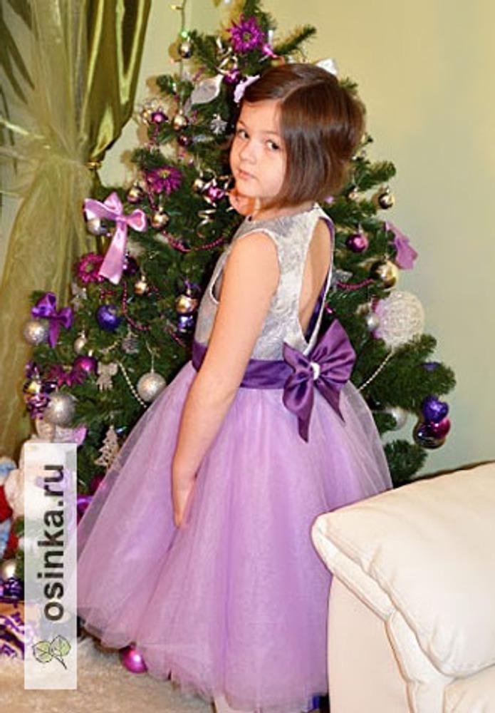 Фото. Платье, сшитое специально для новогодних праздников для дочки. Автор работы - Oxana1980