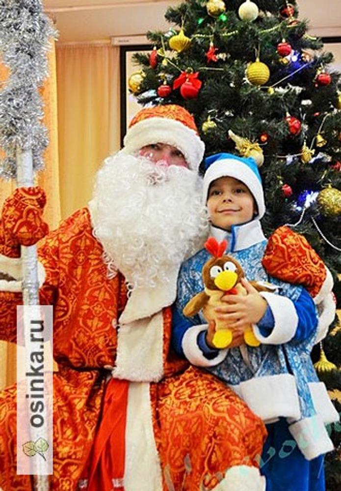 Фото. Самый юный Дед Мороз! Автор работы - Веревочк@