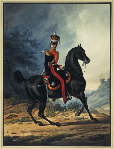 """Фото. Зауервейд А. И. """"Штаб-офицер лейб-гвардии Драгунского полка"""""""