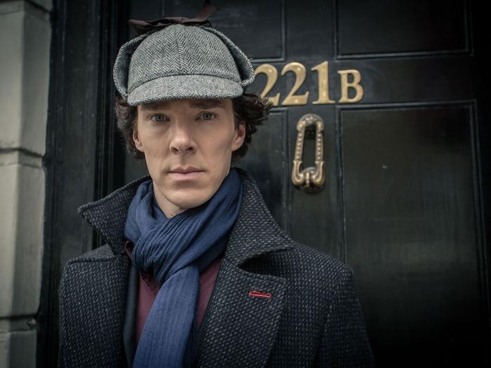 "Фото. Кепка Шерлока Холмса. Кадр из к/ф ""Шерлок""."