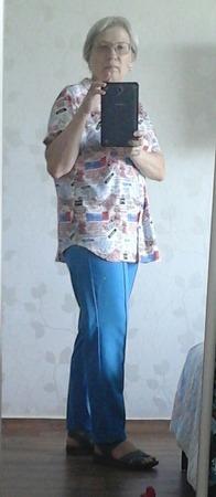 Фото. Рубашка  + быстро-брюки.  Автор работы - Оля А.