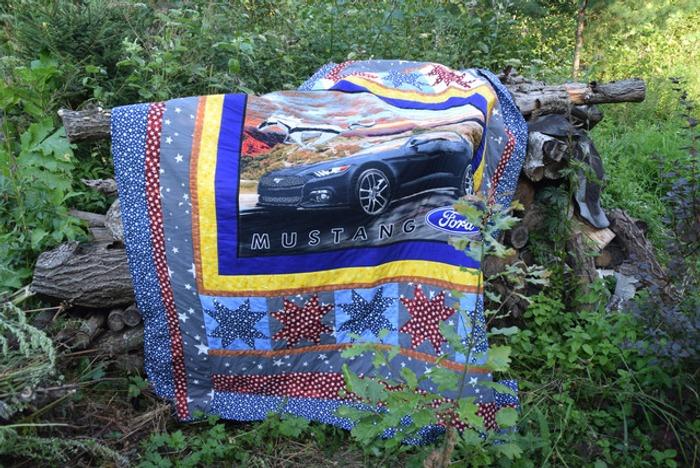 Фото. Лоскутное одеяло. Автор работы - Анечка-Иванечка