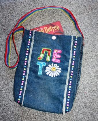 Фото. Летняя сумочка.  Автор работы - Ninno4ka
