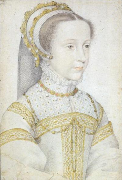 Фото. Мария Стюарт в юности. Художник Франсуа Клуэ, ок. 1555—1559 гг.