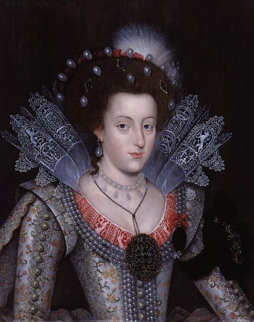 """Фото. Неизвестный художник """"Елизавета, королева Богемии"""",  1613 г."""