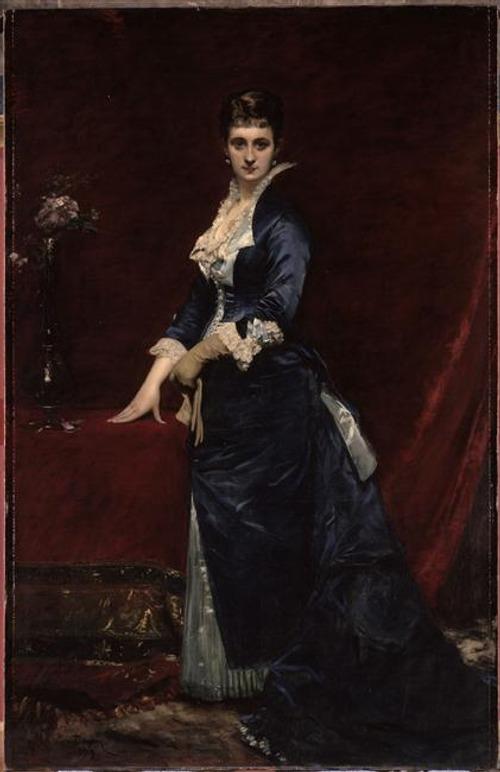 """Фото. Каролюс-Дюран """"Портрет мадам Жорж Петит"""" (1879)"""