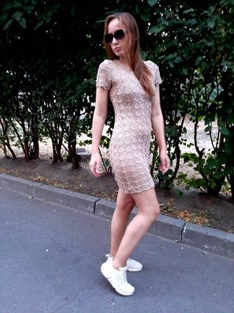 Фото. Платье из пряжи Roze. Автор работы - Ольга Киевлянка