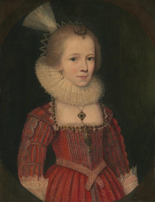 """Фото. Поль ван Сомер """"Портрет молодой девушки"""" 1615 г."""