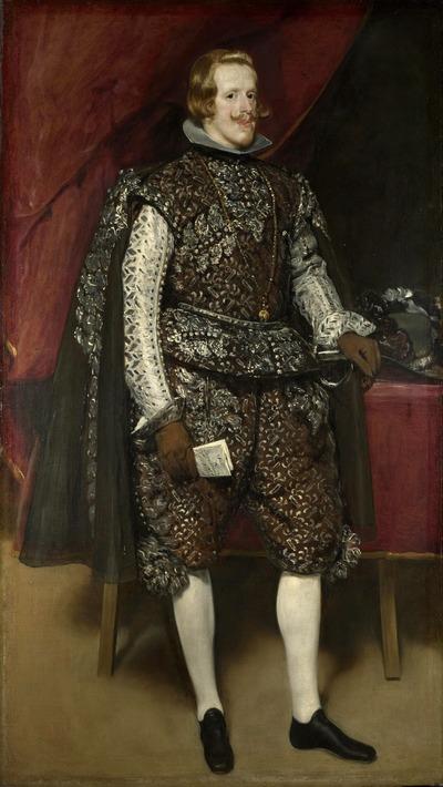 """Фото. Диего Веласкес """"Портрет филиппа IV в коричневом с серебром костюме"""". И без рафа!"""