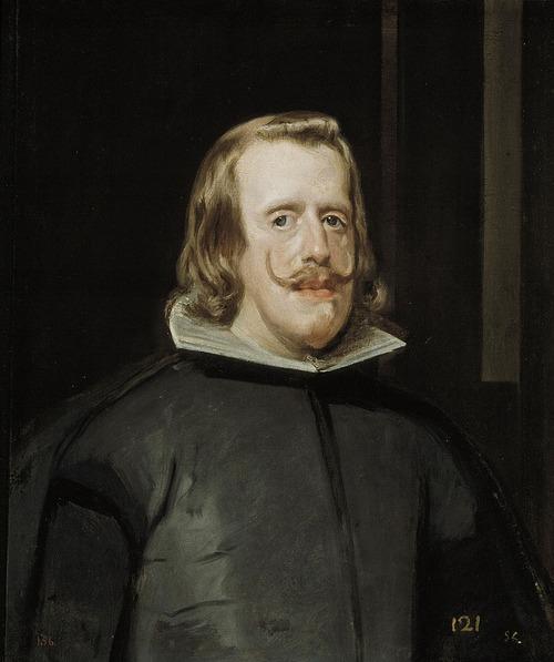 """Фото. Диего Веласкес """"Портрет короля Филиппа IV Испанского (ок. 1653)"""" Музей Прадо (Испания)"""