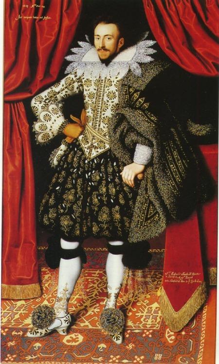 """Фото. Уильям Ларкин """"Ричард Саквиль"""", 1613 г."""