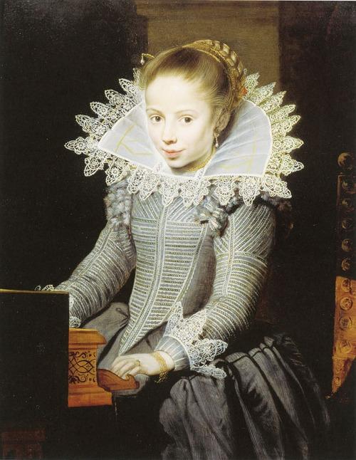 "Фото. Корнелис де Вос ""Портрет девочки"", ок. 1624 г."