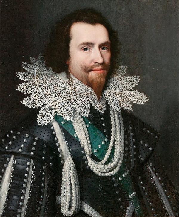 """Фото. Михиль ван Миревельт """"Портрет Джорджа Вильерса, 1-го герцога Бекингема"""", 1626 г."""
