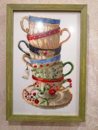 "Фото. ""Чашки"", китайский набор. Автор работы - VitaliyaSev"