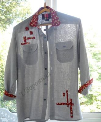 Фото. Рубашка-переделка. Автор работы - Карманьола
