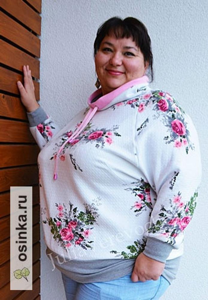 """Фото. Толстовка """"Розовое утро"""" - теплый и необычайно женственный наряд.. Автор работы - Веревочк@"""