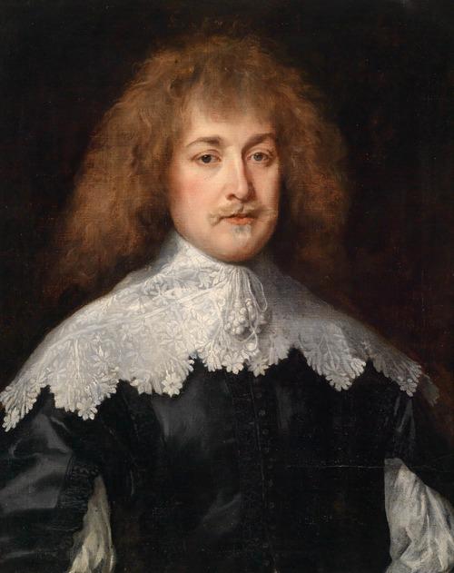 Фото. Антонис ван Дейк. Генри Джермен, будущий лорд Джермен и граф Сент-Олбанс.