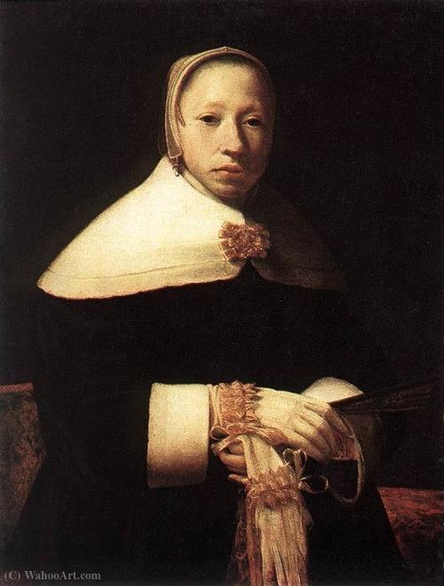 """Фото. Виллем Дрост (1633 - 1659) """"Женский портрет"""", ок. 1655"""