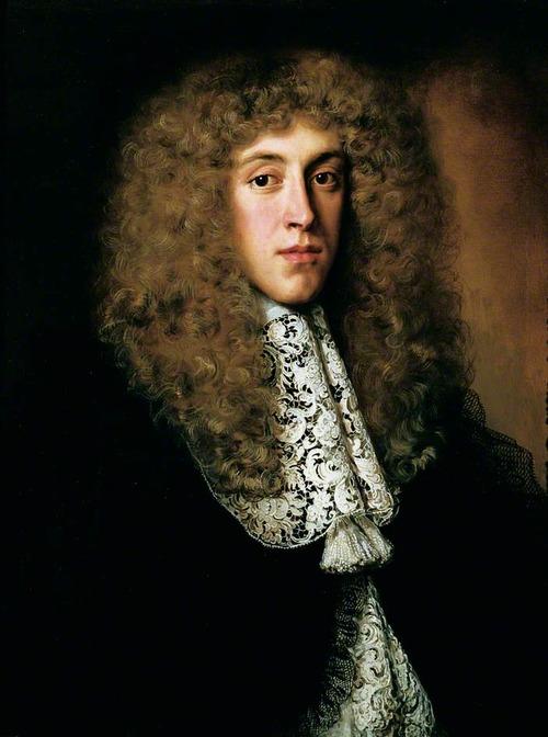 """Фото. Джейкоб Фердинанд Воет """"Портрет джентльмена с кружевным воротником"""", ок. 1660 г."""